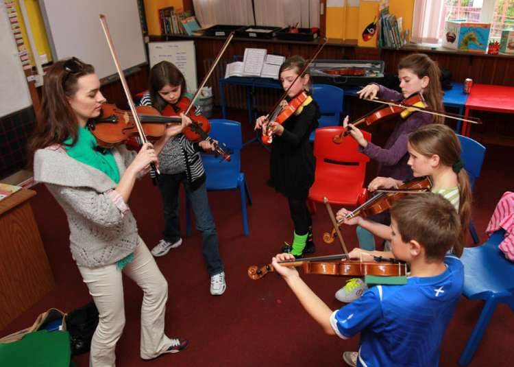 Youth Music Workshops - with fiddle tutor Sarah Naylor