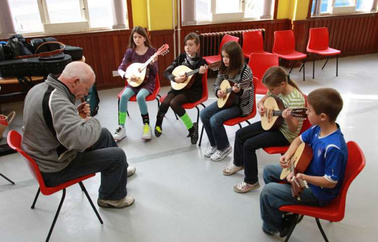 Youth Music Workshops - with mandolin tutor, Alan Jones