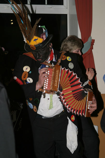 Belchamp Morris Dancer - What a great shape!