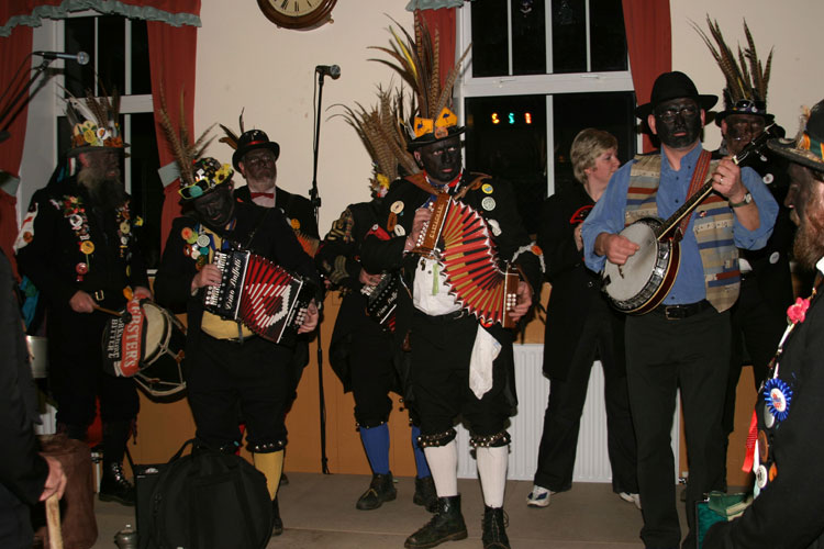 Belchamp Morris Dancers - The musicians